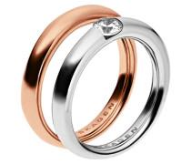 ELIN 2 PACK Ring rosegoldcoloured