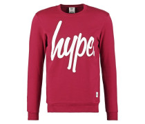 Sweatshirt dark red