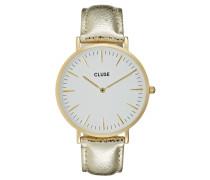 LA BOHÈME - Uhr - gold-coloured/white/metallic