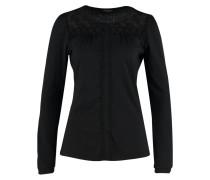 LONDON Langarmshirt black