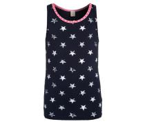 Nachtwäsche Shirt navy