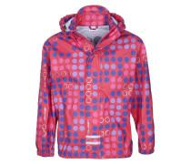 JEAN Regenjacke / wasserabweisende Jacke bright red