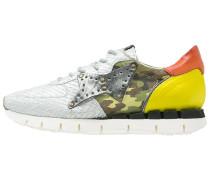 MACCHIA Sneaker low bianco/green/giallo/arancio