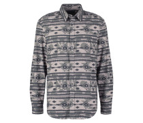 Hemd mottled grey