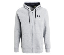 RIVAL Trainingsjacke true grey heather/graphite/black