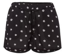 SUNNA PALM LEAVES - Shorts - black