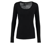 Langarmshirt noir