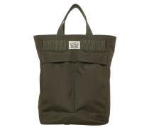 BACKPACK TOTE Shopping Bag dark khaki