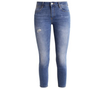 Jeans Skinny Fit damaged blue