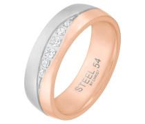 Ring - silberfarben/rosé