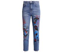 GRAFFITI - Jeans Straight Leg - middenim