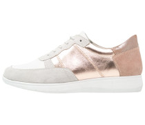 Sneaker low light grey/rosegold