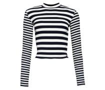 NAUTICAL - Langarmshirt - navy/ecru stripe