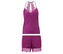 Nachtwäsche Set - violet