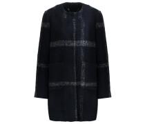 EMAJA Wollmantel / klassischer Mantel dark blue