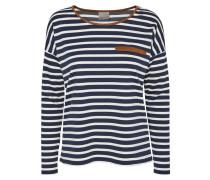 Langarmshirt navy blazer