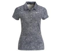 PRECISION Poloshirt black/metallic silver