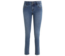 VMSAMMY - Jeans Slim Fit - medium blue denim