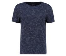 TShirt basic dark blue melange