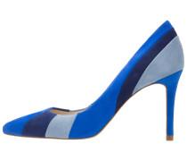 High Heel Pumps blue/multicolor