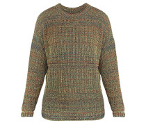SHORE LEAVE RAINBOW - Strickpullover - yellow/red/teal