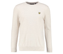 Strickpullover off white marl