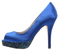 POUSSEUR Peeptoe dazzling blue