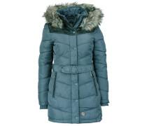 LUBECK Wintermantel dove blue polyester