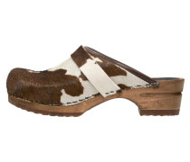 CAROLINE - Clogs - brown