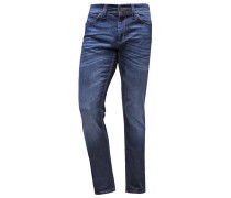 Jeans Straight Leg dark blue denim