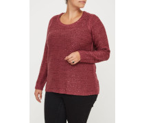 JRNEW HELLY Strickpullover maroon