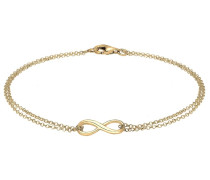 INFINITY - Armband - goldfarben