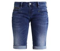 BELIXA - Jeans Shorts - flexy indigo