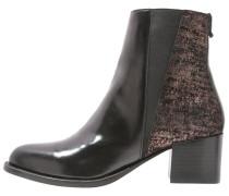 REZA - Stiefelette - raindrops cupper/black