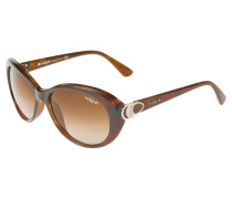 Sonnenbrille shiny brown