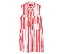 VAINI Blusenkleid red/white