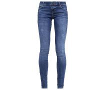 VMFIVE Jeans Slim Fit medium blue denim