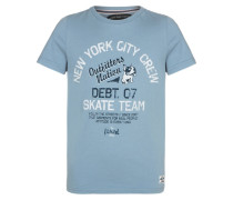 OFNCROSBY TShirt print faded denim