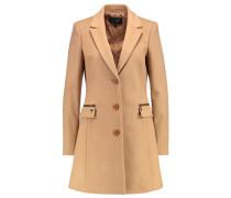 Wollmantel / klassischer Mantel cammello