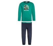 NICOLAI Pyjama green melange