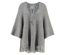 EVANNA Strickpullover medium grey melange