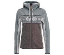 PATCHWORK ANNI Fleecepullover grey melange