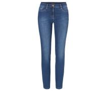 MILA PURE Jeans Slim Fit regular blue
