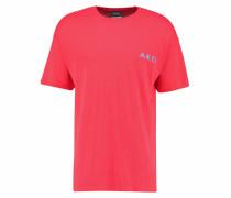 ITALIC - T-Shirt print - red