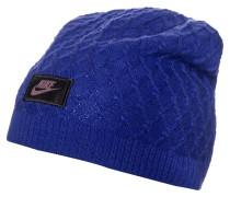 CABLE Mütze deep royal blue/black
