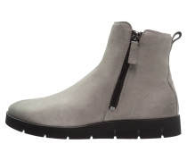 BELLA Plateaustiefelette warm grey