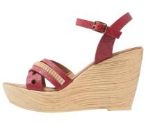 High Heel Sandaletten - red