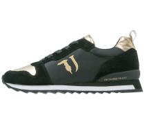Sneaker low black/gold