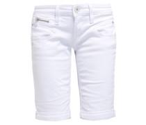 BELIXA - Jeans Shorts - white