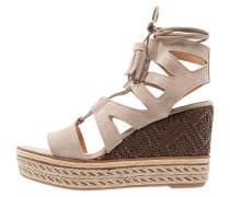 PRAGA - High Heel Sandaletten - taupe